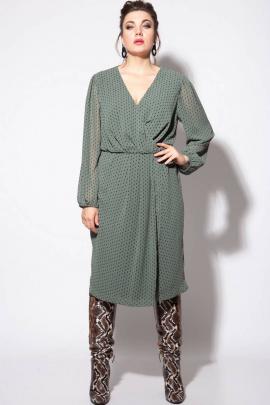 Платье SOVA 11079 зеленый