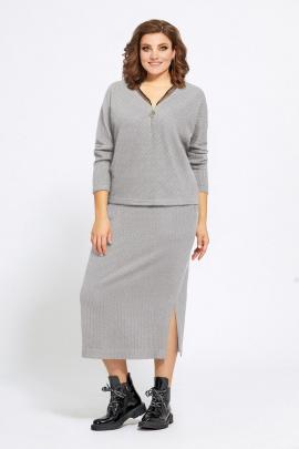 Женский костюм Mubliz 511 серый