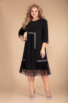 Платье Svetlana-Style 1467 черный+полоски