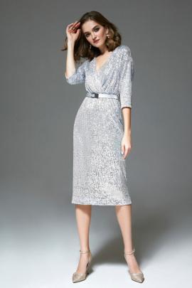 Платье Gizart 7411сер