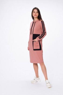Платье Stilville 20С1749 розовый