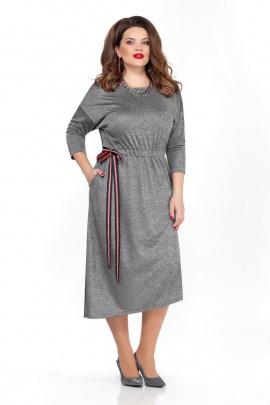 Платье TEZA 1835 темно-серый