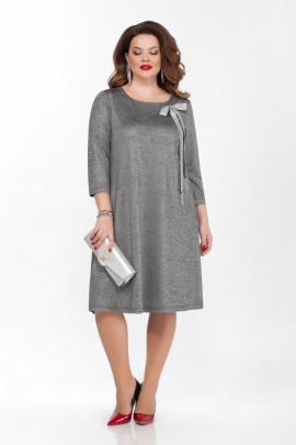 Платье TEZA 1837 темно-серый