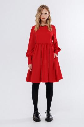 Платье PiRS 1686 красный