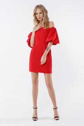 Платье PiRS 2252 красный