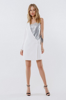 Платье PiRS 2253 молочный