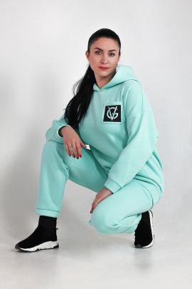 Спортивный костюм VG Collection 33 бирюза