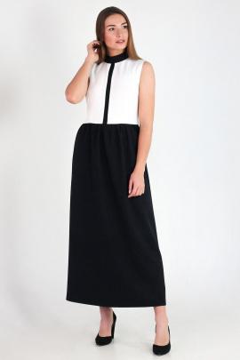 Платье VG Collection 69 черно-белый