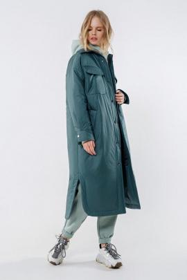 Пальто PiRS 1678 изумруд