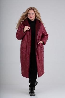 Пальто Diamant 1577 бордо