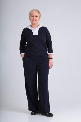 Блуза Ma Vie М558 синий