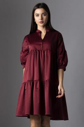 Платье VIZAVI 635 бордовый