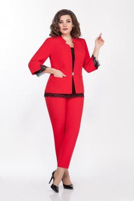 Женский костюм LaKona 1338/1 красный