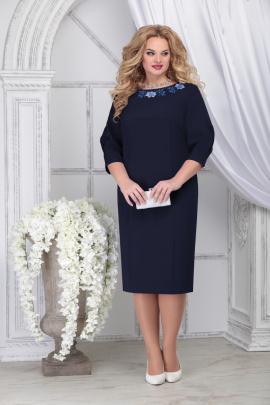 Платье Ninele 7309 синий