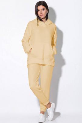 Спортивный костюм LeNata 21146 желтый