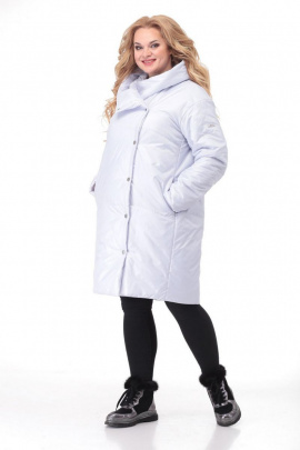 Пальто LadyThreeStars 2032 звездно-белый