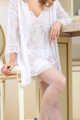 Пеньюар Verally 371-1 белый
