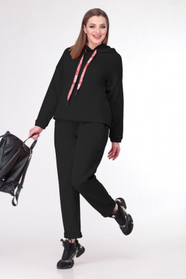 Спортивный костюм Deluizn 897 черный