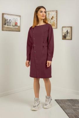 Платье Samnari Т118 бордо