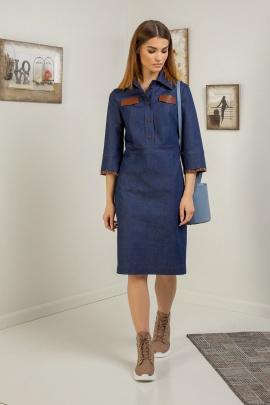Платье Samnari Т119 синий