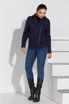 Пальто Lissana 4114 синий