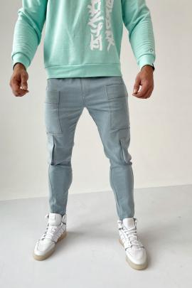 Брюки Rawwwr clothing 216 светло-голубой