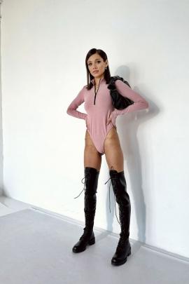 Боди Rawwwr clothing 223 пыльная_роза