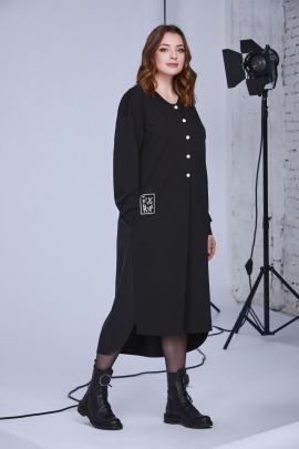 Платье Andrea Style 0337 черный