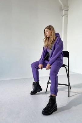 Брюки Rawwwr clothing 213-начес фиолетовый