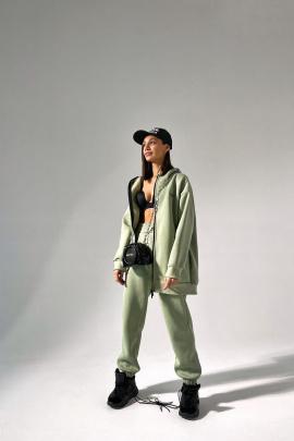 Худи Rawwwr clothing 221-начес оливковый