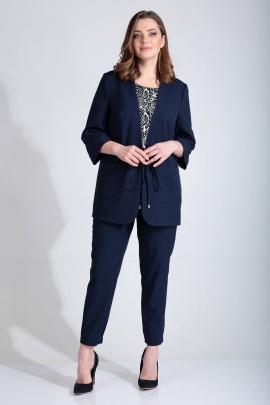 Женский костюм Liona Style 774 темно-синий