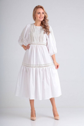 Платье FloVia 4068 белый