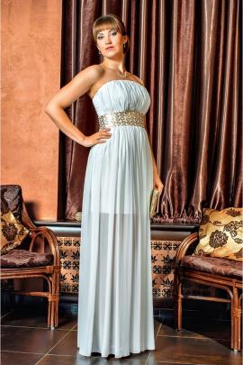 Платье Lejole 1319 дл.молоко