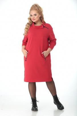 Платье Кэтисбел 1531 красный