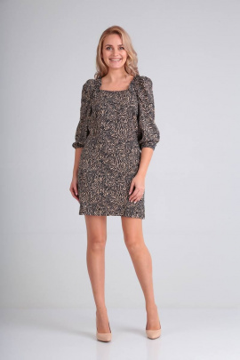 Платье Moda Versal П2262 леопард