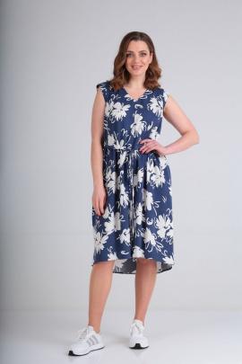 Платье GALEREJA 618 синий