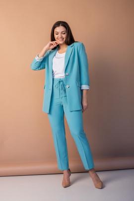 Женский костюм Angelina 632 бирюза