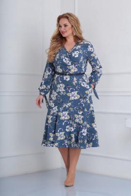 Платье Basagor 465 васильковый