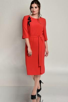 Платье Faufilure outlet С670 красный