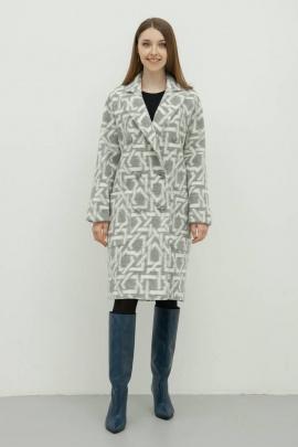 Пальто Bugalux 436 164-графика/серый