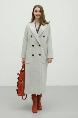 Пальто Bugalux 938 170-серый
