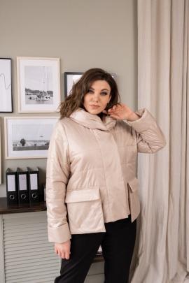 Куртка Ольга Стиль С-700 бежевый