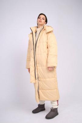 Пальто TSURAN COAT-JULIA-ML сливочный