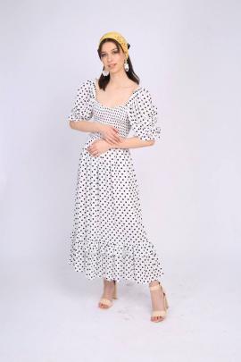 Платье TSURAN DRESS-ROMANTIKA-W белый