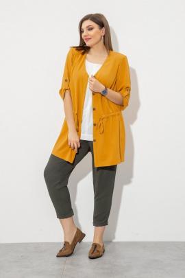 Женский костюм JeRusi 2032 желтый-хаки