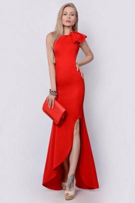 Платье PATRICIA by La Cafe F14815 красный