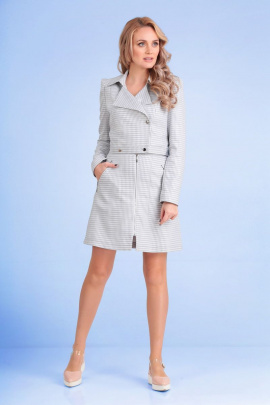 Женский костюм Andrea Fashion AF-114 серый