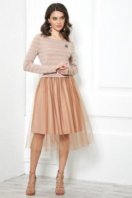 Платье AYZE 1820 бежевый