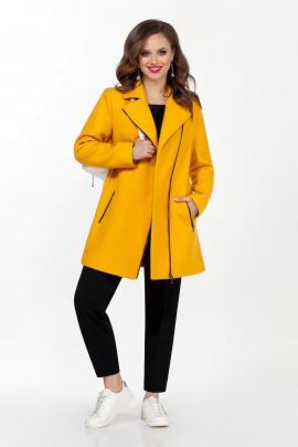 Пальто TEZA 1565 желтый