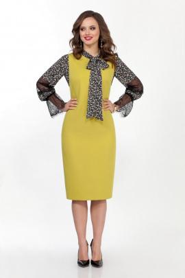 Блуза, Сарафан TEZA 2360 желто-черный